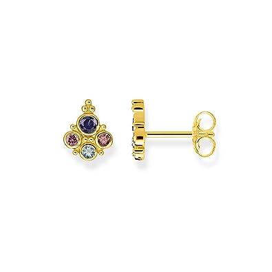 neu authentisch gehobene Qualität Infos für Thomas Sabo Damen-Ohrstecker Royalty gold Glam & Soul 925 Sterling Silber  H2024-959-7