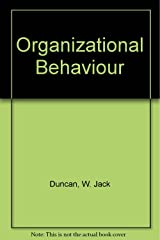 Organizational behavior Hardcover