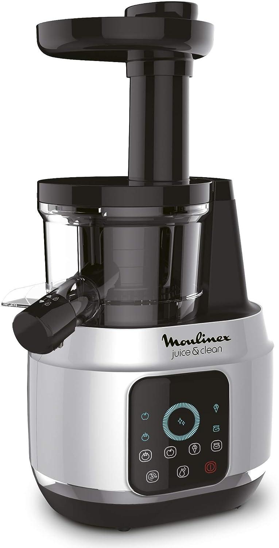Moulinex Juice and Clean Licuadora De Prensado En Frío, 150 W, 0.8 ...