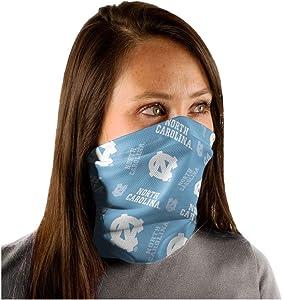 WinCraft NCAA North Carolina Tarheels UNC Text/Logo Fan Wrap Gaiter Mask Headwear