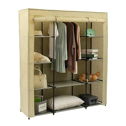 AQAWAS Armario de Tela para Ropa, Durable Organizador Closet ...