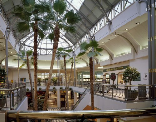24 x 36 Giclee print of Tysons Corner Center shopping mall Tysons Corner Virginia r16 [between 1980 and 2006] by Highsmith, Carol - Tysons Corner Mall