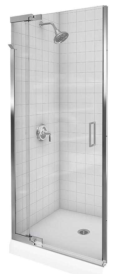 Kohler K 702013 L Sh Purist Frameless Pivot Shower Door Bright