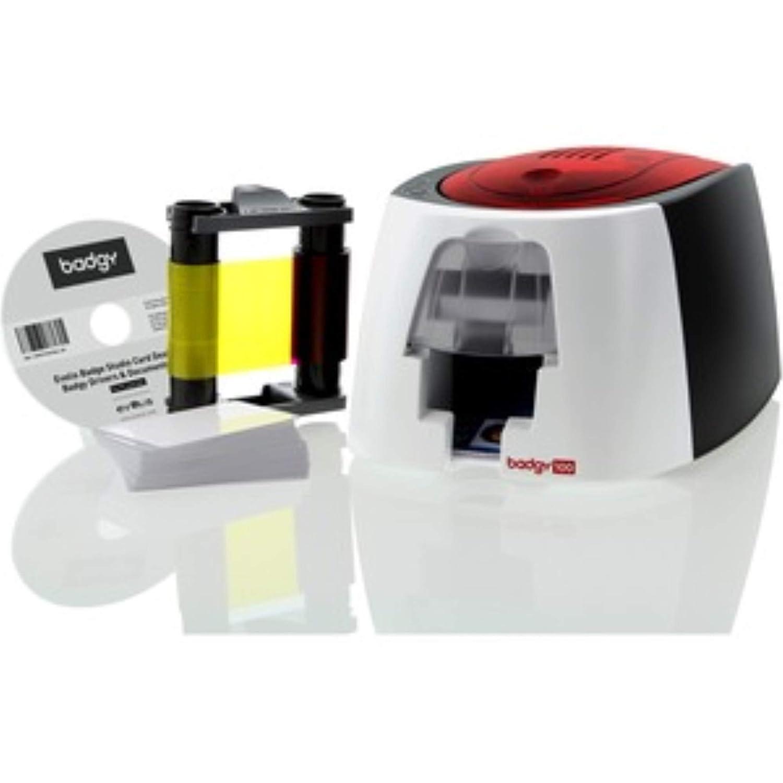 Badgy 100- Impresora, 50 tarjetas: Amazon.es: Informática