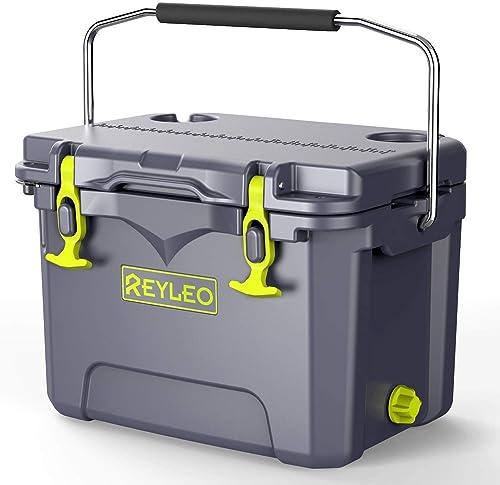 REYLEO Bear-Resistant 21-Quart Camping Cooler