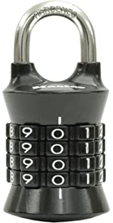 master lock 1535d vertical resettable number combination lock assorted colors 1 pack