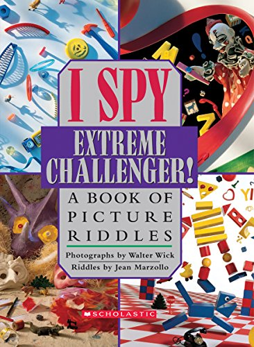 I Spy Extreme Challenger: A Book of Picture - Stores Houston Texas Outlet In