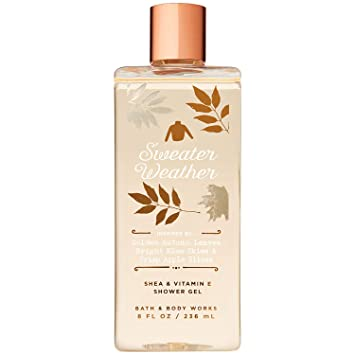 Amazoncom Bath And Body Works Sweater Weather Shea And Vitamin E