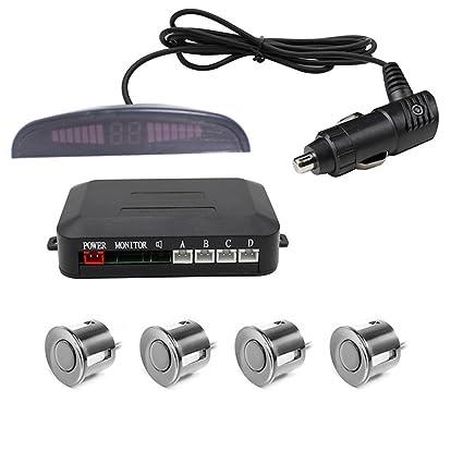 Amazon.com: Thjsvy - Sensor de aparcamiento inalámbrico LED ...