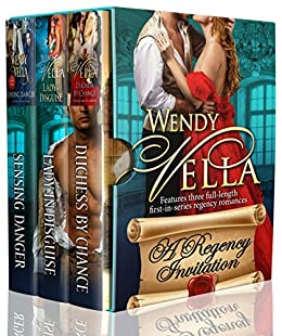 A Regency Invitation: Three First In Series Romances by [Vella, Wendy]
