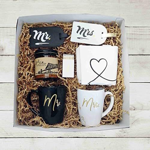 Best Wedding Gift For Couple: Amazon.com: Mr Mrs Wedding Gift Box Unique Wedding Gift