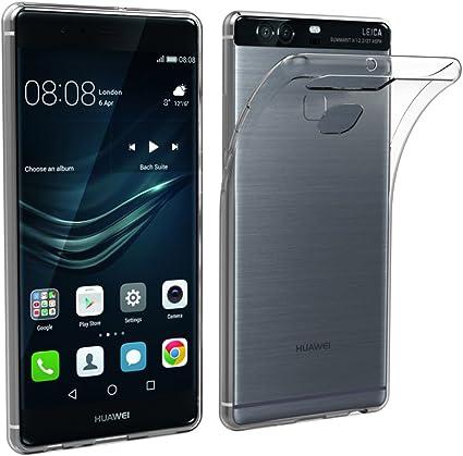 Simpeak Funda Compatible con Huawei P9 Plus (Pack of 2), Funda Transparente Compatible con Huawei P9 Plus Carcasa Compatible con Huawei P9 Plus Silicona TPU Case: Amazon.es: Electrónica
