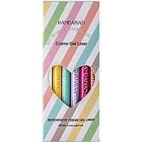 Eastdall 6 PCS colorido delineador de olhos lápis pigmento conjunto de canetas delineador canetas delineador cosméticos…