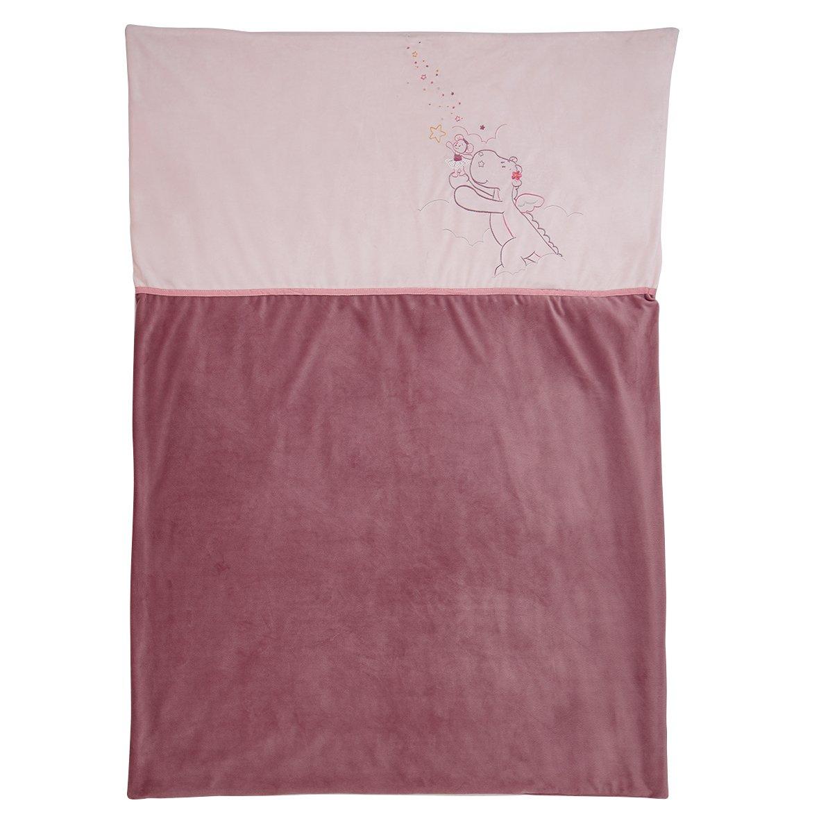 Noukies BB1620.09 M&V Veloudoux Decke, 100 x 140 cm, mehrfarbig
