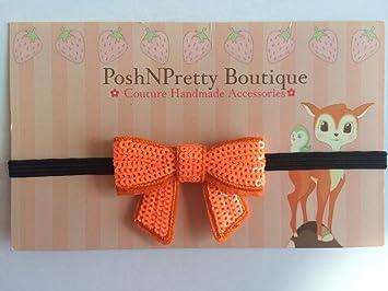 Amazon inches sequin bling bows applique baby poshnpretty