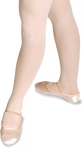 Roch Valley PINK SATIN BALLET SHOES