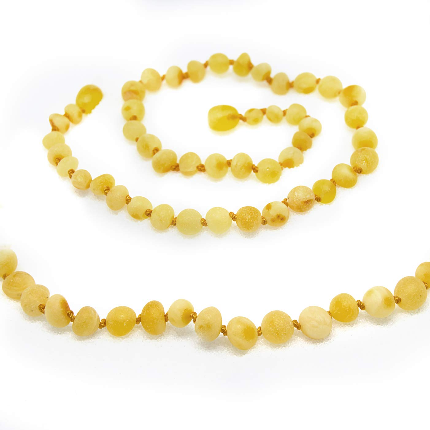 12-12.5 Inches size for boy or girl honey//agate//aqua The Art of Cure Original Baltic Amber Necklace- Polished Handmade