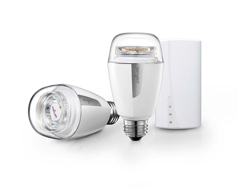 Sengled Element Plus Smart LED Light Bulb, A19 Dimmable LED Light Tunable White 2700-6500K 60W Equivalent, Starter Kit (2 A19 bulbs + hub), Works with Alexa/Google Assistant/IFTTT