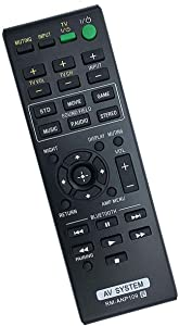 New RM-ANP109 Replace Remote Control fit for Sony Audio Video Home Theater Sound AV System HT-CT260 HT-CT260C HT-CT260H HT-CT260HP HT-CT260W SA-CT260 SA-CT260H SA-WCT260H PN1H Sub RM-ANP084