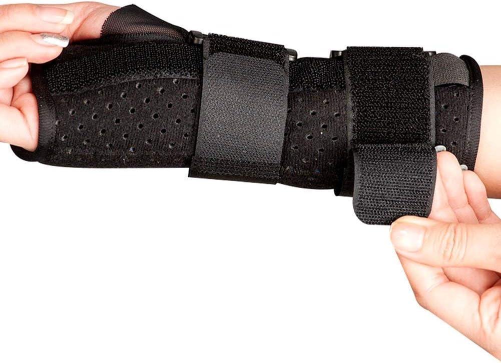 YUXINCAI Férula De Mano Adaptarse A La Artritis Esguince De Cinturón Función Fija Órtesis De Dedo Adecuado para Niños Adultos Postura,Lefthand,Medium