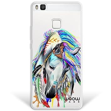 WoowCase Funda Huawei P9 Lite, [Hybrid] Caballo Indio Colección ...