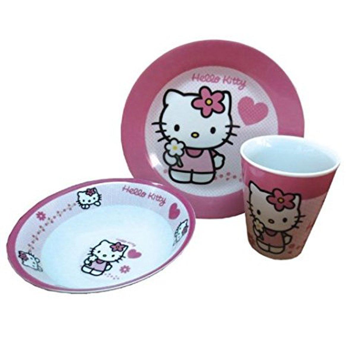 Hello Kitty - Frühstücksset, 3-teilig