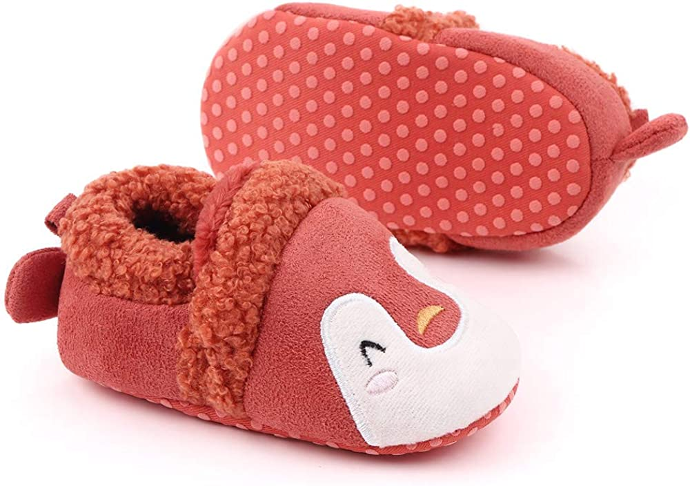 Csfry Baby Girls Fleece Warm Winter Boots