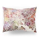 Society6 Baltimore Map Pillow Sham Standard (20'' x 26'') Set of 2