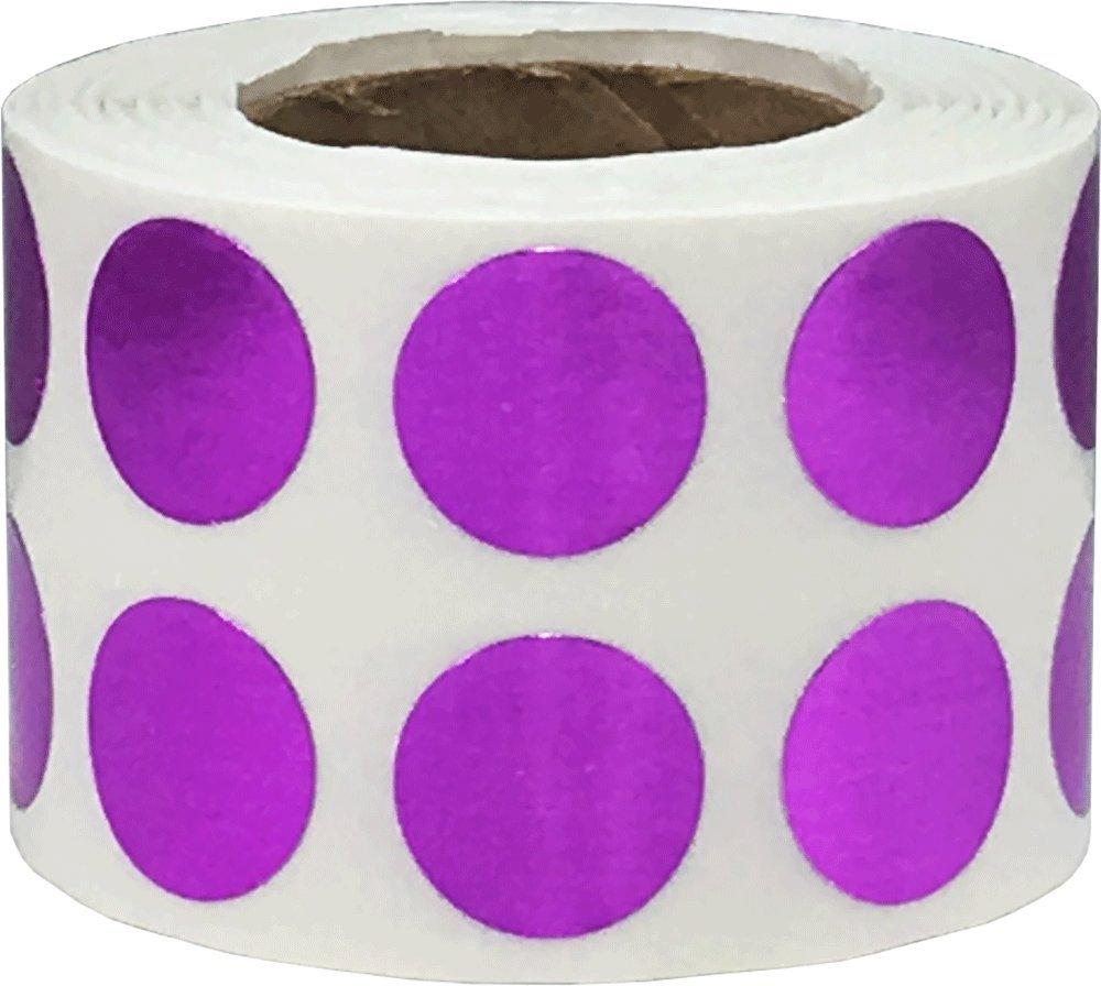 13 mm 1//2 Zoll Runde 1000 Etiketten auf einer Rolle Orange Kreis Punkt Aufkleber