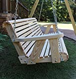 Ecommersify Inc ROLL BACK Amish Heavy Duty 800 Lb 5ft. Porch Swing- Made in USA