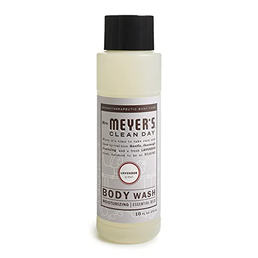 Mrs. Meyer's Body Wash,16 fl oz (Lavender, Pack - 2)