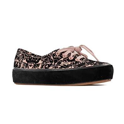 47be17287910 Vans Women s Authentic Sidewall Wrap Platform Lace Up Trainer Rose Cloud- Rose-4