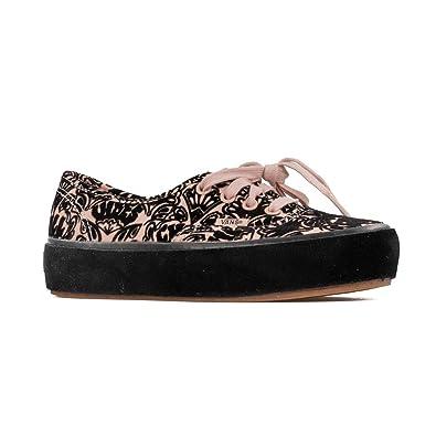 c0c36a15146 Vans Women s Authentic Sidewall Wrap Platform Lace up Trainer Rose Cloud   Amazon.co.uk  Shoes   Bags