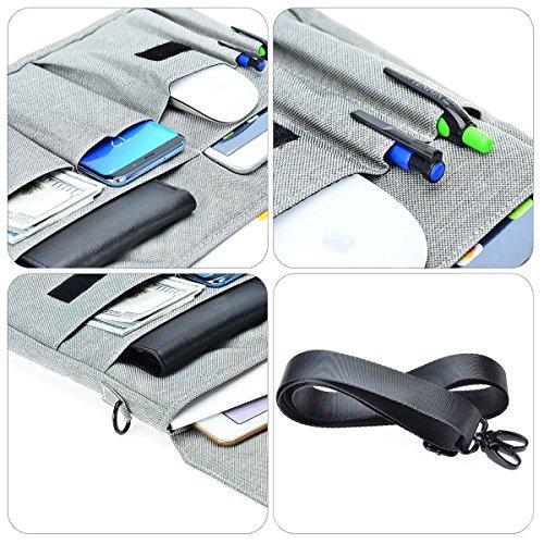 Polyester-hawee-wasserabweisend Laptop Schulter Aktentasche Tasche für 33 3CbmSH