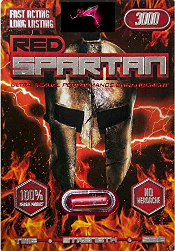 Red Spartan 3000 AND NEPTUNE 5000  -24 pill Male Enhancement Sex Pill - All Natural Performance PLUS LOVE POTION PEN