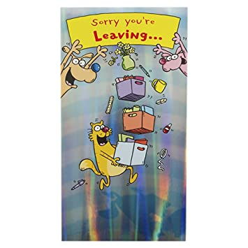 Hallmark Leaving Card 'All The Best' - Large: Amazon.co.uk: Office