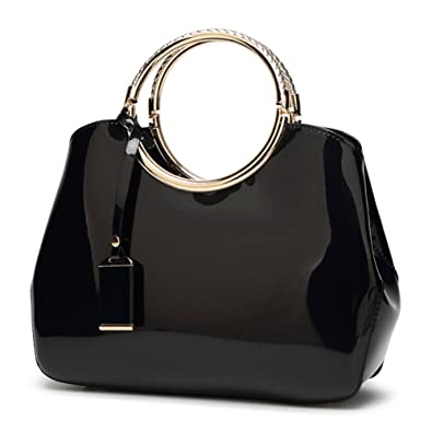 G Averil 2018 New Womens Black Handbags Ladies Top Handle Bags