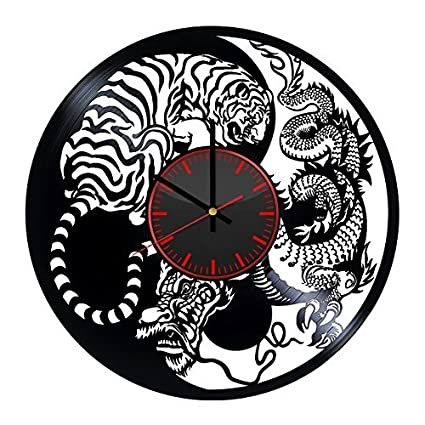 Amazon com: Taniastore Japan Asia Tiger vs Dragon Design Vinyl