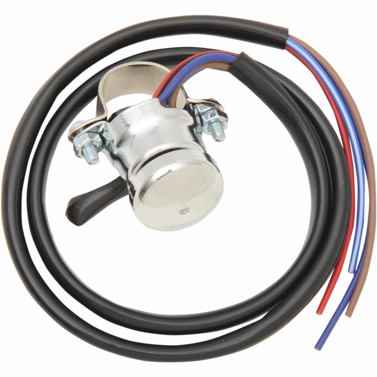 61KXZFC9xCL._SL1200_ amazon com emgo lucas replica horn hi low beam switch black Wire Harness Clips at alyssarenee.co