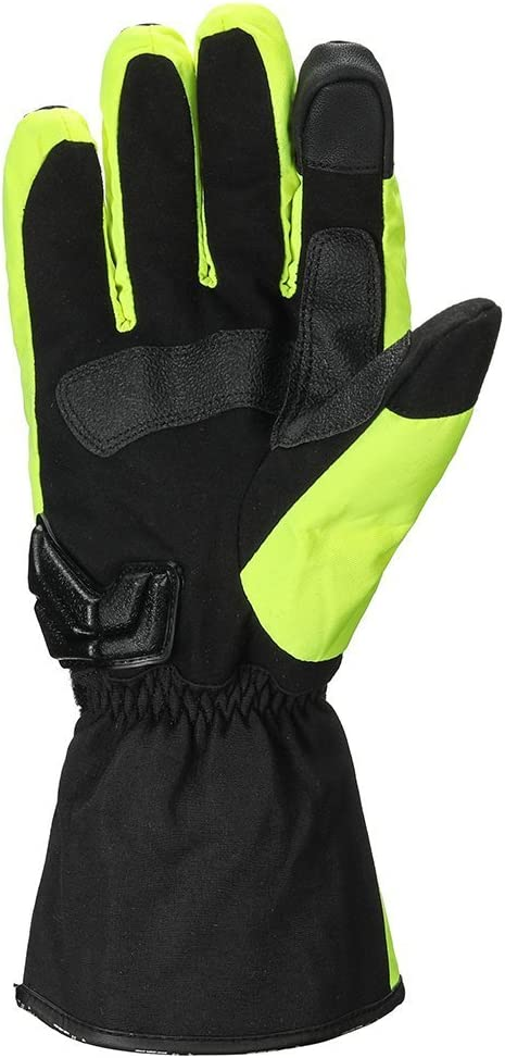 BLACK ILM Alloy Steel Leather Hard Knuckle Touchscreen Motorcycle Bicycle Motorbike Powersports Racing Gloves XL, LEATHER