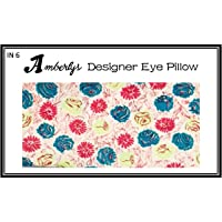 Amberly Lavender Yoga & Mediation Eye Pillow with Washable Covers for Relaxing Insomnia Relief (IN 6)