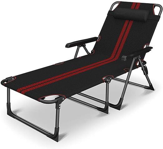 QQXX Tumbona reclinable de jardín Textoline Zero Gravity, Tumbona ...