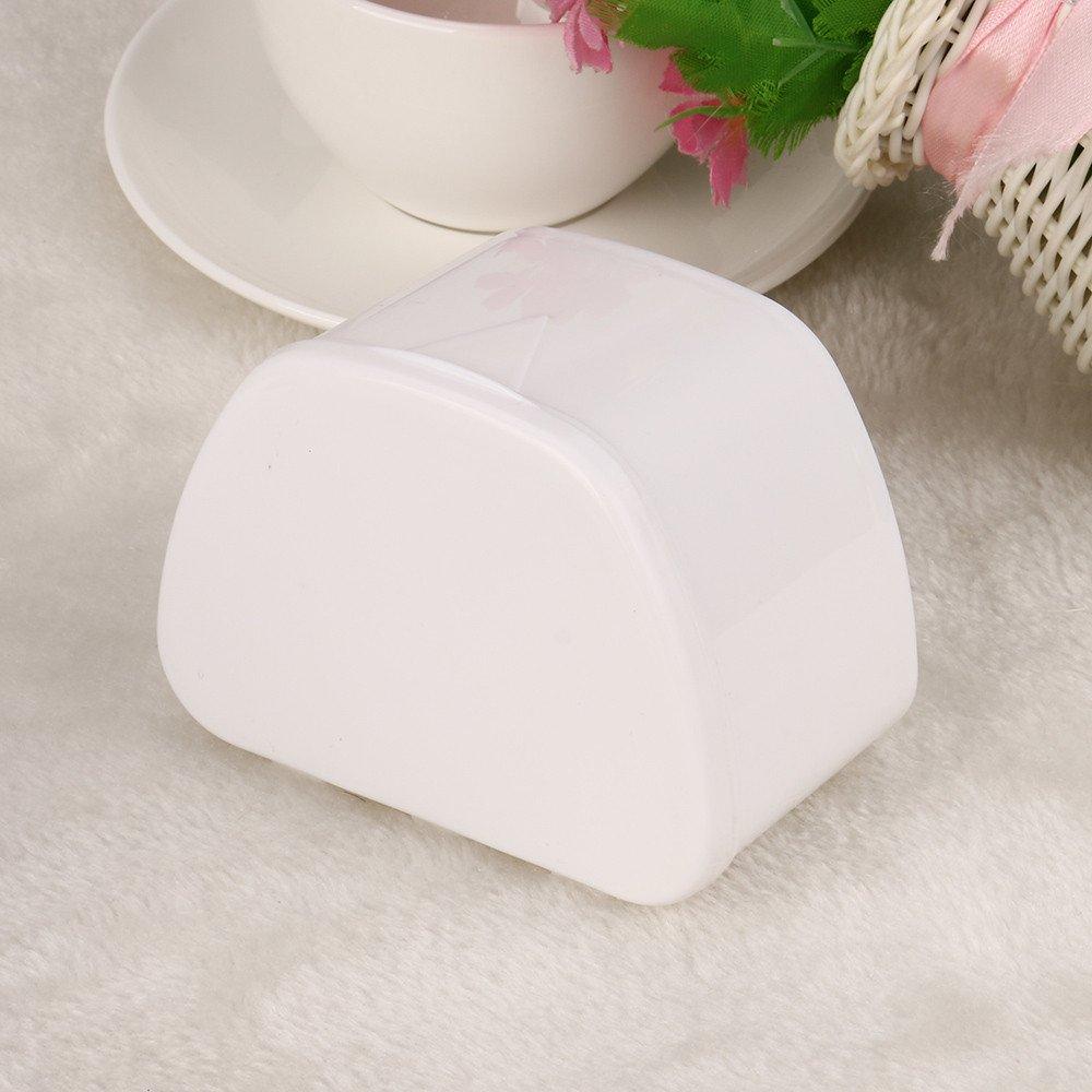 Hohaski Denture Bath Appliance False Teeth Box Storage Case Rinsing Basket Professional Dental Supplies Color Random(White, Blue & Pink) by Hohaski (Image #4)