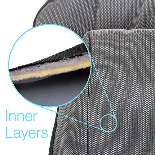 Piddle Pad Car Seat Protector by Silverflye- Crash Test Safety Certified- Waterproof Liner- Potty Training Seat Saver Pads for Infants Baby and Toddlers- Leak Free Technology- Machine Wash and Dry by Silverflye (Image #2)