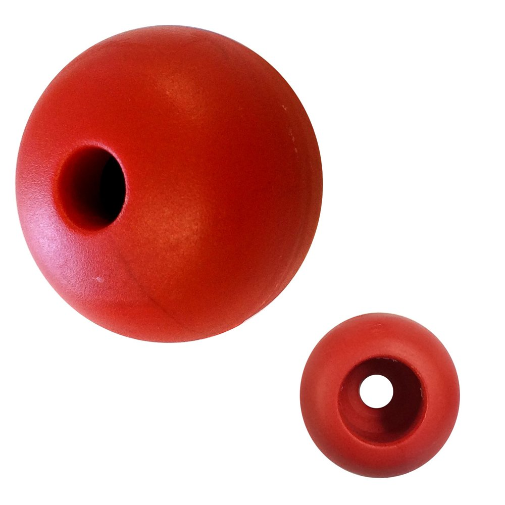 Ronstan Parrel Bead - 25mm(1') OD - Red - (Single) RF1316R
