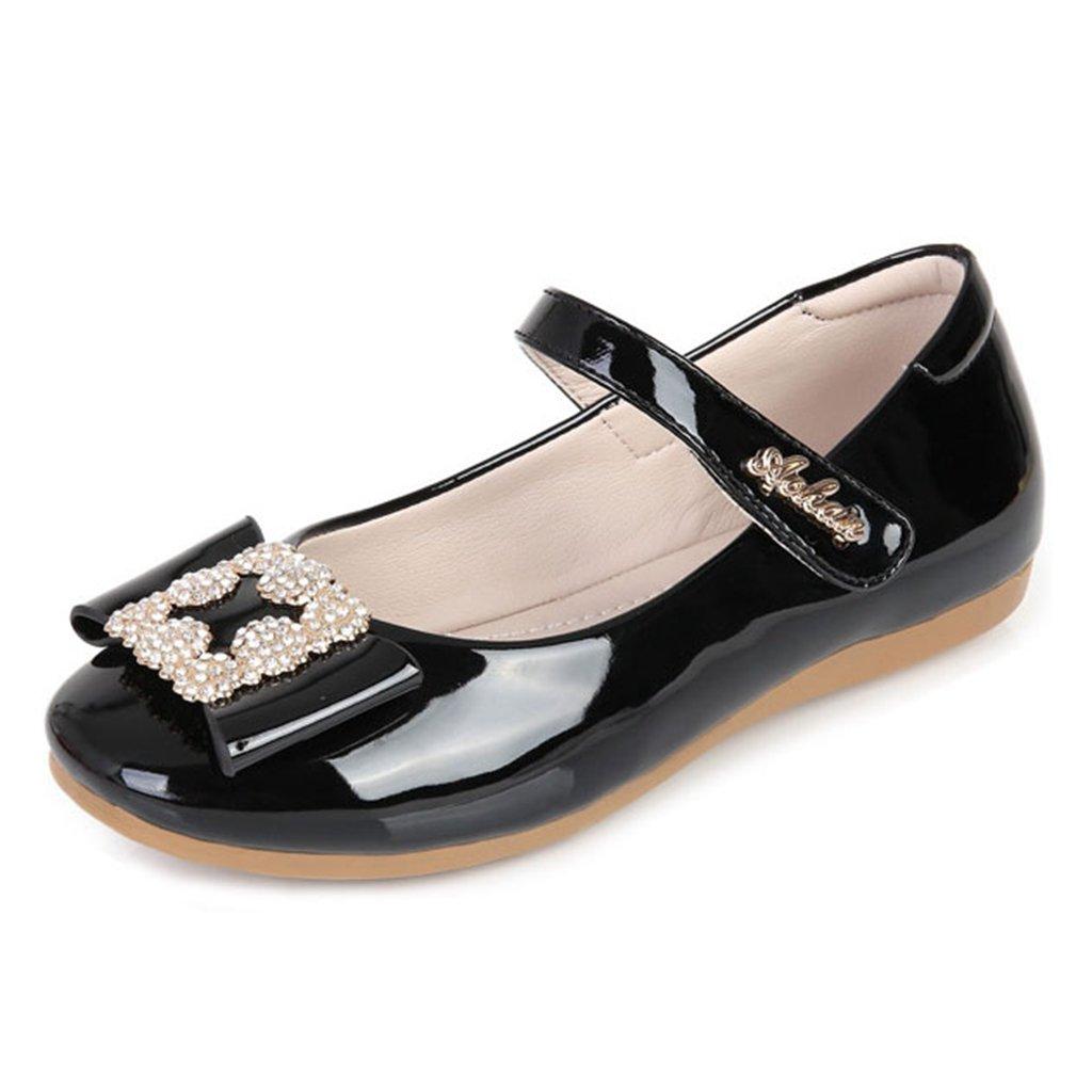 Girl's Mary Jane Ballerina Glittle Rhinestone Casual Slip on Flat Dress Ballet Shoes£¨Little/Big Kid£