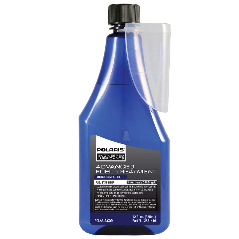 Polaris New OEM Fuel Treatment, Stabilizer,12oz, 2881416