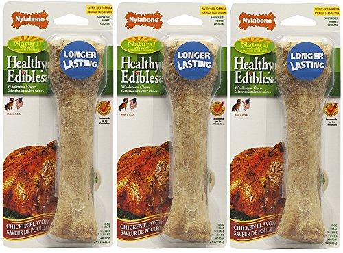 Nylabone Healthy Edibles Longer Lasting Chicken Souper