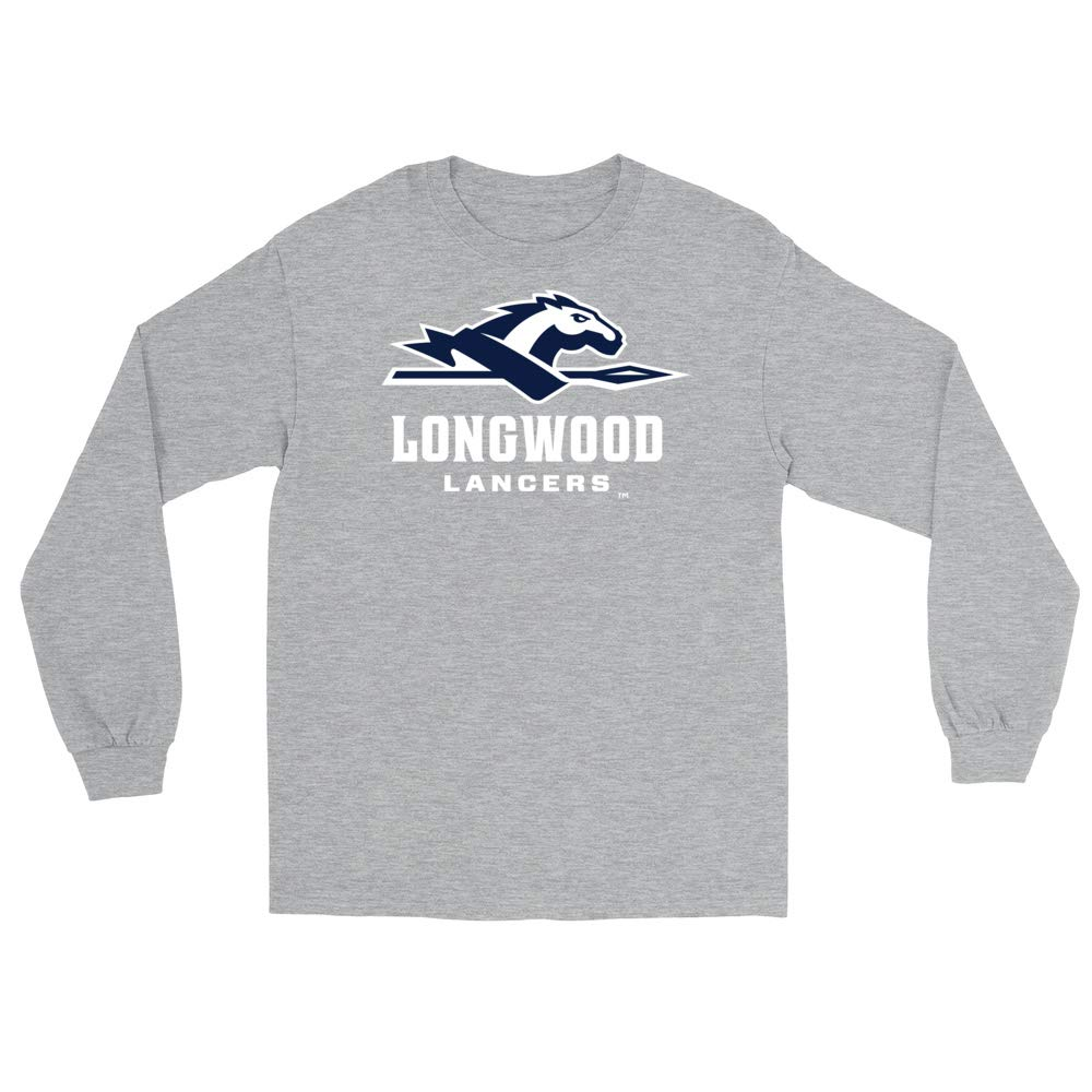 Official NCAA Longwood University Lancers RYLLWU06 Mens//Womens Boyfriend Long Sleeve Tee