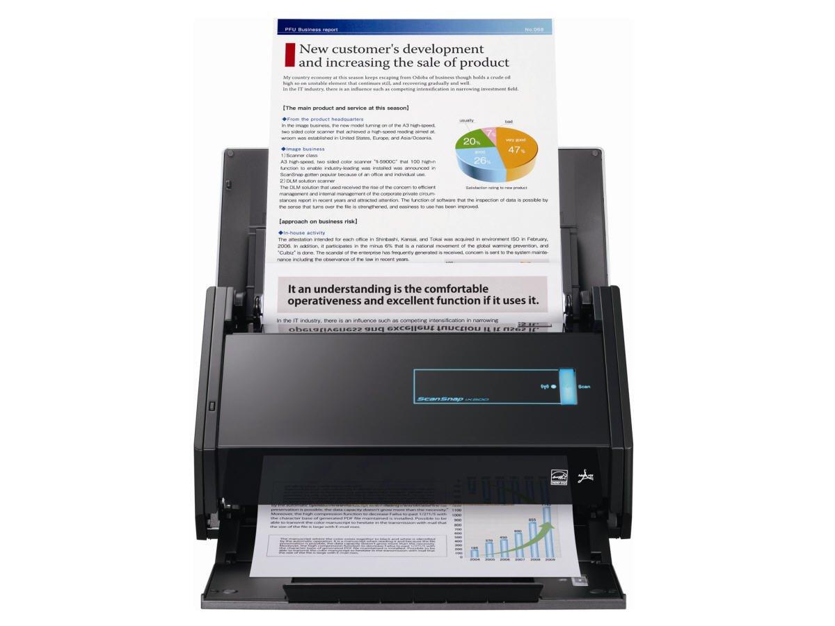 Amazon.com: Fujitsu ScanSnap iX500 (for Windows and Mac) ADF ...